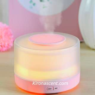 Mystic Paradise Purple. Ultrasonic Aroma Diffuser for home fragrance. Free Essential Oil + Free Delivery! Air Purifier and Humidifier. LED Lightings
