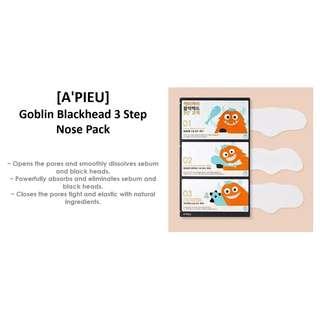A'PIEU GOBLIN BLACKHEAD 3-STEP NOSE PATCH