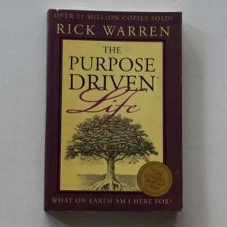 The Purpose Driven Life Book In Paperback