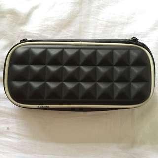Smiggle black stud pencil case