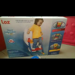 Foldable Potty Training Ladder (New)