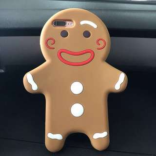 Silicon Case 3D Iphone 7/8 Plus Ginger Bread