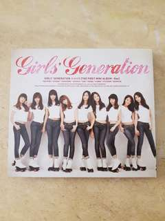 SNSD First Mini Album- GEE