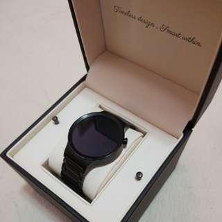 Huawei Watch第一代黑鋼智能手錶*支援IOS同ANDROID Devices!