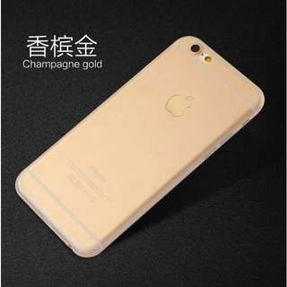 Soft Matte TPU Case for iPhones