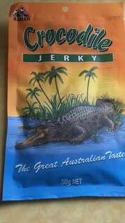 Australian Crocodile jerky