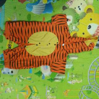 Pretend play cloth for toddler-tiger