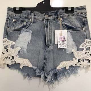 Toby heart ginger shorts size 12