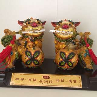 Collectibles Lion Pair