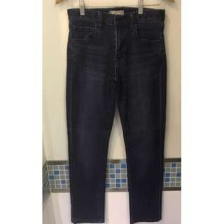 [Uniqlo] Dark Blue Denim Jeans 28 (70 cm)