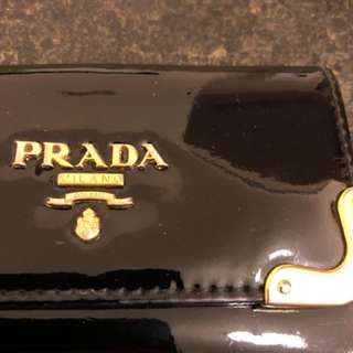 Prada keys holder