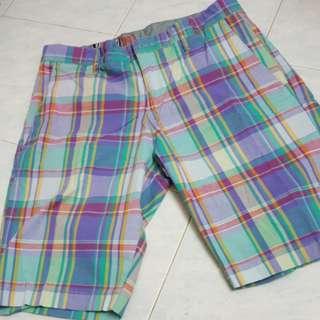 Volcom checkered Short Pants size 34