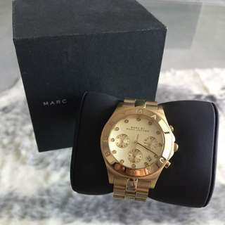 Marc Jacobs blade watch Gold