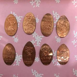 香港迪士尼 錢幣 銅幣