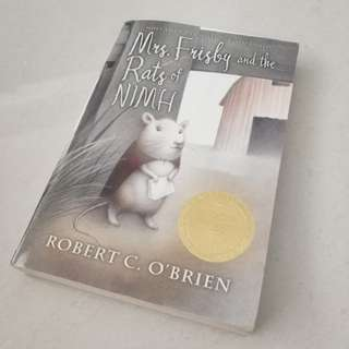 Mrs Frisby and the Rats of NIMH - Robert Clark. O' Brien
