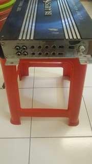 BlueStorm 4channel 1000watt amplifier