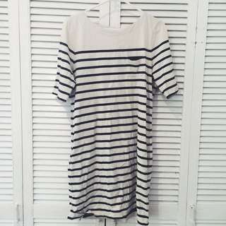 Country Road Stripe Tshirt Dress