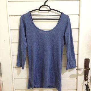 Fit body low back shirt