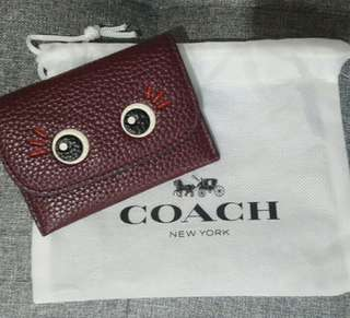 Authentic Coach card wallet