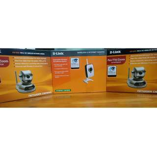D-Link DCS-5220 and DCS-2121 Wireless Internet Camera (See Description for Price List)