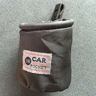 Brand New Circular Pouch With Clip