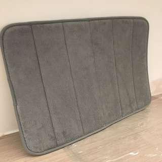 40x59cm 加厚超吸水地毯 灰色
