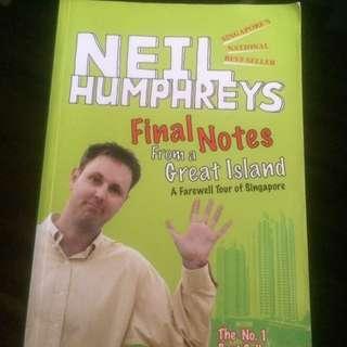 Neil Humphreys Final Notes