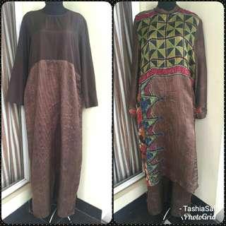 Baju Muslim / Gamis / Long dress Exclusive + Payet IVA LATIVAH