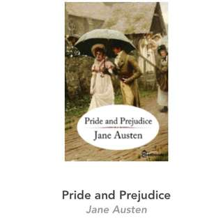 (eBook) Pride And Predudice