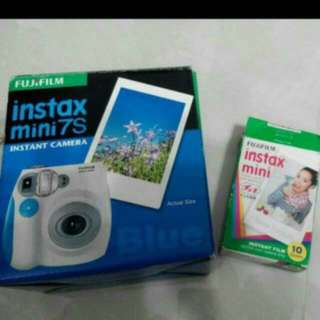 Fujifilm Instax Mini 7s Instant Camera + Free 10x Instant Film (worth $15)