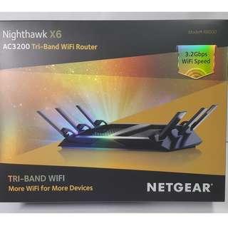 Nighthawk X6 | Tri-Band WiFi Router | AC3200 (R8000) | NETGEAR