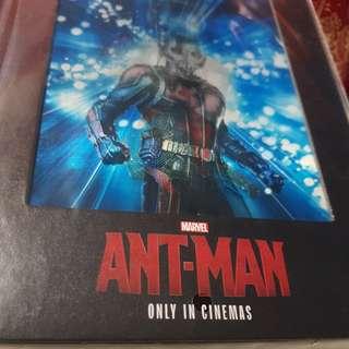 Marvel Ant-Man Notebook (brand new)