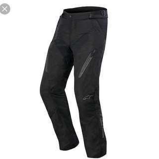 Alpinestars Radon Drystar Pants (M size) with removable breathable and waterproof liner