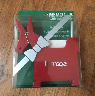 Memo Clip with Pen Holder