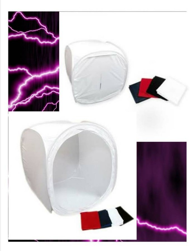 """16"""" Photography Lighting Tent - Photo Photographic Continuous Light Box"""