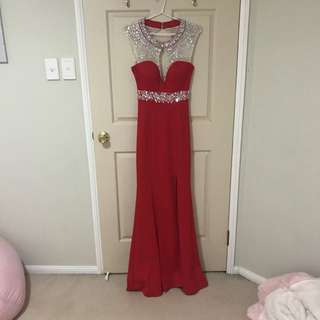 Miss Anne Red Formal Dress