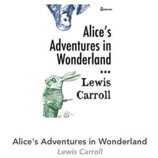 (eBook) Alice's Adventures in Wonderland