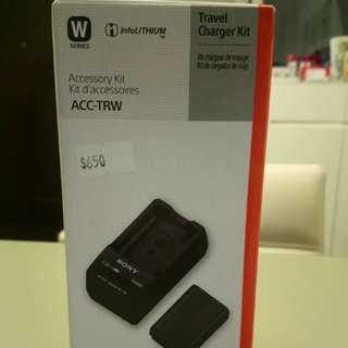 Sony camera battery charger