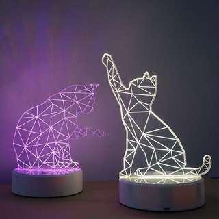 JUNGKOOK CAT LAMP