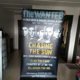The Wanted Waterproof Poster