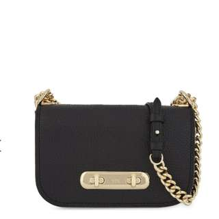 COACH Swagger 20 pebbled leather cross-body bag