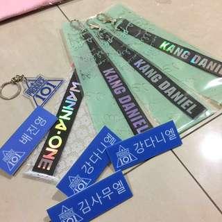 [READY STOCK] PRODUCE 101 WANNA ONE Name Member Lanyard & Nametag