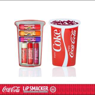 Coca Cola Lip Smacker Plus Cup Tin
