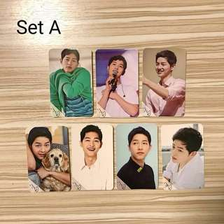[BRAND NEW] Song Joong Ki Set of 7 Photo Cards