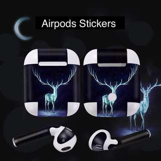 Airpods Stickers emotal