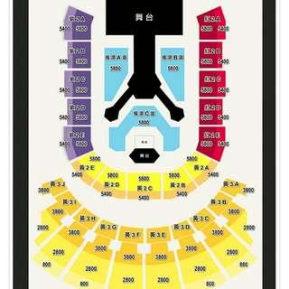🚚 EXO四巡演唱會門票