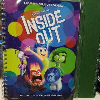 Inside Out A5 Notebook