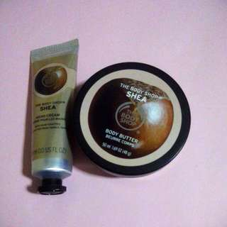 The Body Shop Set ( Shea )