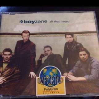 Boyzone CD Single