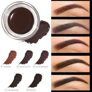 Focallure 5 Colors Eyebrow Gel Durable  Eyebrow Pomade Gel Waterproof Maquiagem Makeup Accessories Eyebrow Pomade Gel